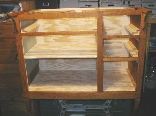 how to build a hoosier cabinet